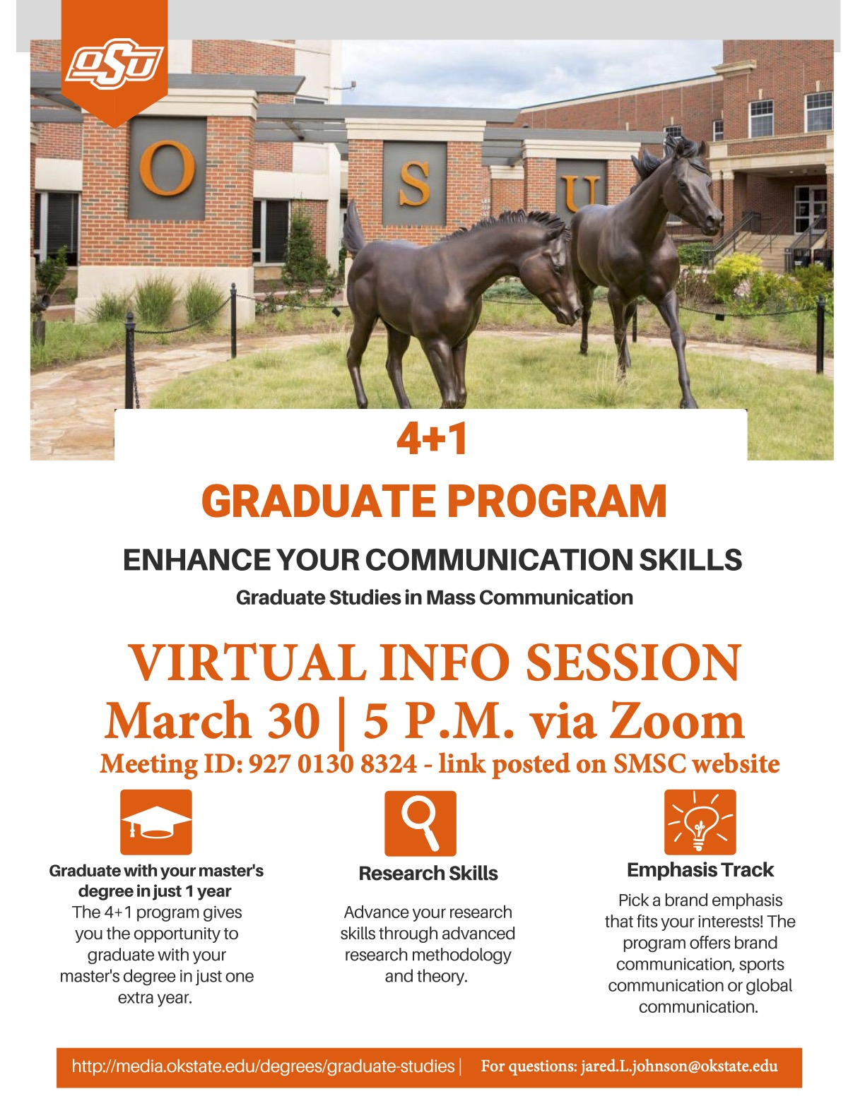 Information Session Flyer